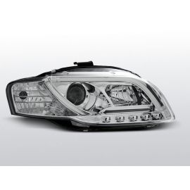 Přední světlaAUDI A4 B7 11.04-03.08 LED TUBE LIGHTS CHROM