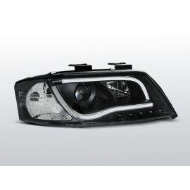Přední světlaAUDI A6 06.01-05.04 LED TUBE LIGHTS BLACK