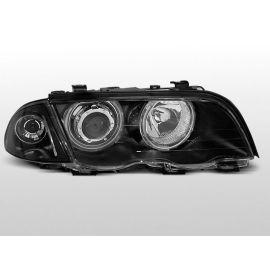 Přední světlaBMW E46 05.98-08.01 S/T ANGEL EYES BLACK