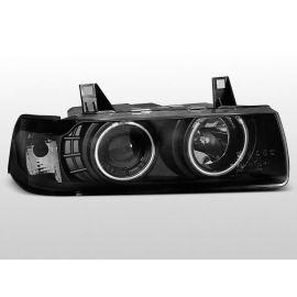 Přední světlaBMW E36 12.90-08.99 S/C/T ANGEL EYES BLACK