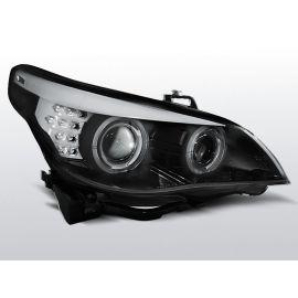 Přední světlaBMW E60/E61 03-07 BLACK LED INDIC.