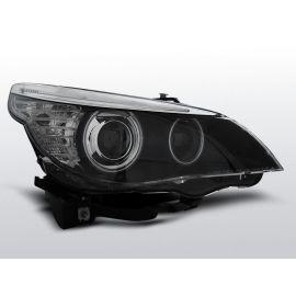 Přední světlaBMW E60/E61 05-07 CCFL HID D1S DUAL PROJECTOR BLACK