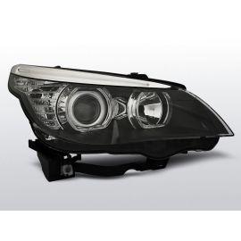 Přední světlaBMW E60/E61 03-07 LED ANGEL EYES H7/H7 BLACK