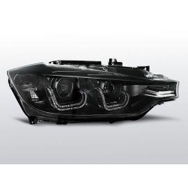Přední světlaBMW F30/F31 10.11 - BLACK U-LED BAR HID