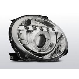 Přední světlaFIAT 500 07- PROJEKTOR CHROM LED