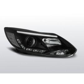 Přední světlaFORD FOCUS MK3 11- 10.14 TUBE LIGHTS BLACK