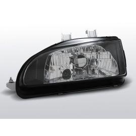 Přední světlaHONDA CIVIC 09.91-08.95 2D/3D BLACK