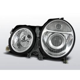 Přední světlaMERCEDES W210 E-KLASA 06.99-03.02 CHROM