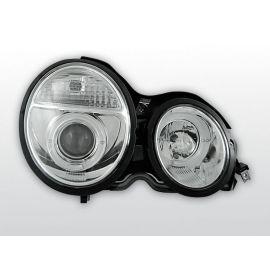 Přední světlaMERCEDES W210 E-KLASA 95-05.99 ANGEL EYES CHROM