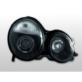 Přední světlaMERCEDES W210 E-KLASA 06.99-02 ANGEL EYES BLACK