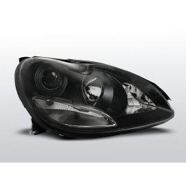 Přední světlaMERCEDES W220 S-KLASA 10.02-05.05 XENON BLACK