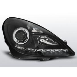 Přední světlaMERCEDES R171 SLK 04-11 DAYLIGHT BLACK