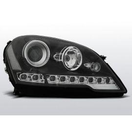 Přední světlaMERCEDES W164 ML M-KLASA 08- DAYLIGHT BLACK
