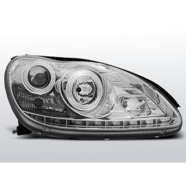 Přední světlaMERCEDES W220 S-KLASA 09.98-05.05 DAYLIGHT CHROM