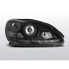 Přední světlaMERCEDES W220 S-KLASA 09.98-05.05 DAYLIGHT BLACK