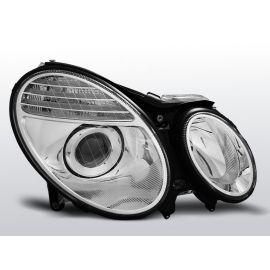 Přední světlaMERCEDES W211 E-KLASA 03.02-04.06 D2S/H7 CHROM