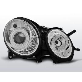 Přední světlaMERCEDES W211 E-KLASA 03.02-04.06 DAYLIGHT CHROM