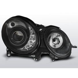 Přední světlaMERCEDES W211 E-KLASA 03.02-04.06 DAYLIGHT BLACK