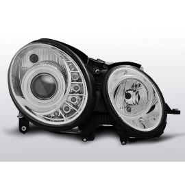 Přední světlaMERCEDES W211 E-KLASA 05.06-09 DAYLIGHT CHROM