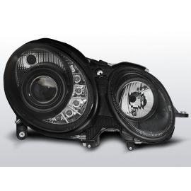 Přední světlaMERCEDES W211 E-KLASA 05.06-09 DAYLIGHT BLACK
