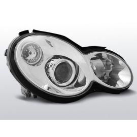Přední světlaMERCEDES CL203 C-KLASA 00-04 CHROM