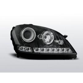 Přední světlaMERCEDES W164 ML M-KLASA 05-07 DAYLIGHT BLACK