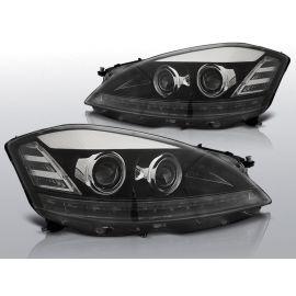 Přední světlaMERCEDES W221 05-09 DAYLIGHT HID BLACK