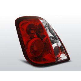Zadní světlaFIAT 500 07- RED WHITE