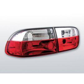 Zadní světlaHONDA CIVIC 09.91-08.95 2D/4D RED WHITE