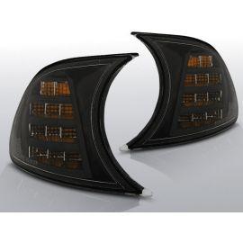 Přední blikače BMW E46 04.99-08.01 Cabrio / Coupe BLACK LED