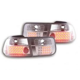 FK lampy tylne LED Honda Civic 2- dveře Typ EJ9 / EK1 /2/3 r.v. 96-00 chrome