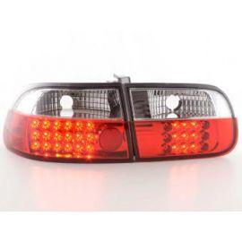 FK zadní světla LED Honda Civic 3- dveře. r.v. 92- red/clear