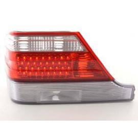 FK zadní světla LED Mercedes S-klasa Typ W140 r.v. 92-98 red/clear