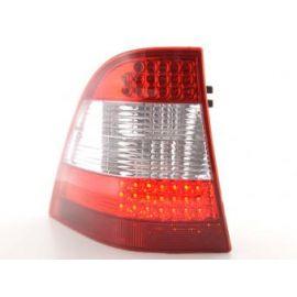 FK zadní světla LED Mercedes M-klasa Typ W163 r.v. 98-05 clear/red