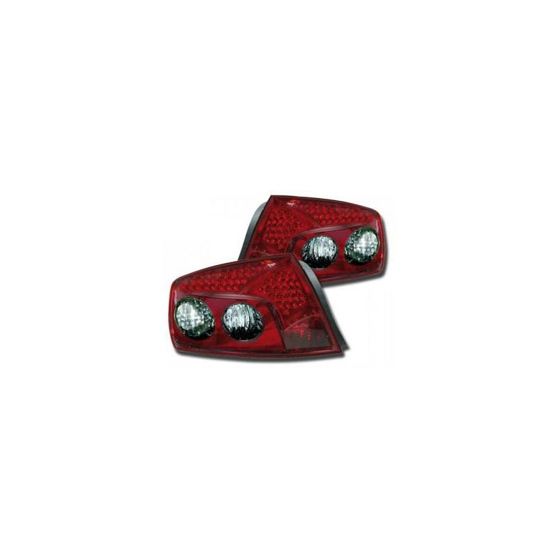 FK LED Rückleuchten Peugeot 407 Limousine Bj. 04- rot - Cardesign-Tom