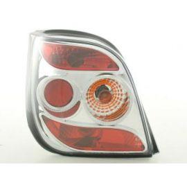 FK zadní světla Ford Fiesta 3- dveře. Typ MK3 r.v. 92-95 chrome