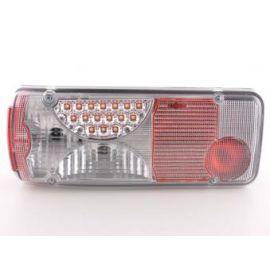 FK zadní světla LED Mercedes Zetros chrome