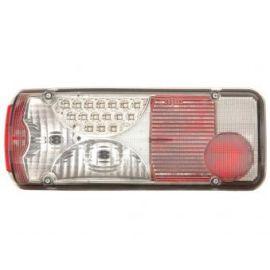 FK zadní světla LED MAN TGA chrome