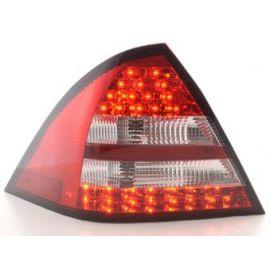 FK zadní světla LED Mercedes C-klasa W203 sedan r.v. 05-07 red/clear