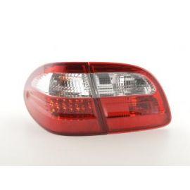 FK zadní světla LED Mercedes E-klasa Combi (210) r.v. 99-03 red/clear