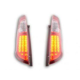 FK lampy tylne LED Ford Focus 2 5- dveře r.v. 04-08 red/clear