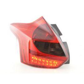 FK zadní světla LED Ford Focus 3 Hatchback r.v. od 2010 red/black