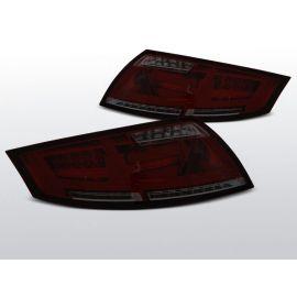 Zadní světla Ledkové AUDI TT 04.06-02.14 RED SMOKE LED BAR