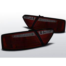 Zadní světla Ledkové AUDI A5 07-06.11 COUPE RED SMOKE LED BAR