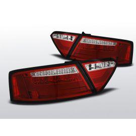Zadní světla Ledkové AUDI A5 07-06.11 COUPE RED WHITE LED BAR