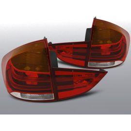 Zadní světla Ledkové BMW X1 E84 10.09-07.12 RED WHITE LED