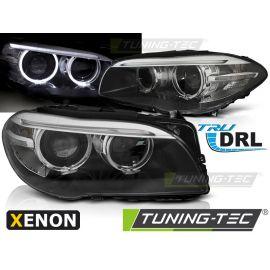 Přední světla BMW F10,F11 10-07.13 AE LED BLACK DRL