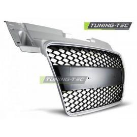 přední maska AUDI TT 06-09 stříbrná RS-STYLE